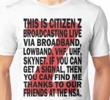 Z Nation: Citizen Z Speech Unisex T-Shirt