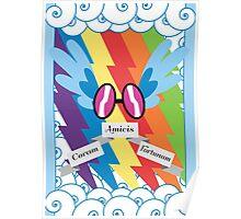Rainbow Dash, Subtle Brony Poster #3 Poster