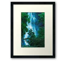 SHEET OF WATER Framed Print