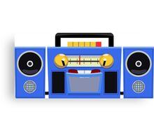 80s Boombox - The Brave Little Toaster Canvas Print