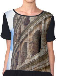 The Colosseum, Rome Italy Chiffon Top