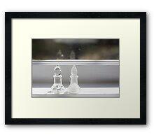Day 11 - white/clear Framed Print