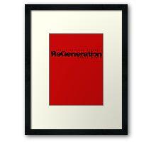 ReGeneration by Chris Dawid 3 Framed Print