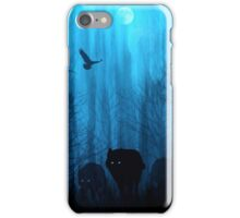 Wolf Pass: Blue Moon Zenith iPhone Case/Skin