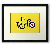 Le Tour de Britain Framed Print