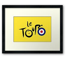 Le Tour de Britain Framed Print