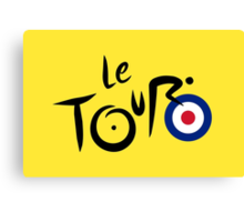 Le Tour de Britain Canvas Print