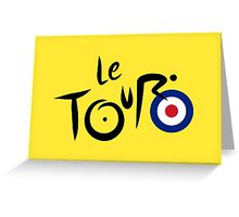 Le Tour de Britain Greeting Card