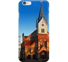 The village church of Aigen II | architectural photography iPhone Case/Skin