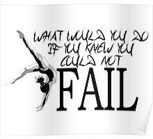 I WON'T FAIL Poster