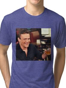 marshall eriksen with beer  Tri-blend T-Shirt