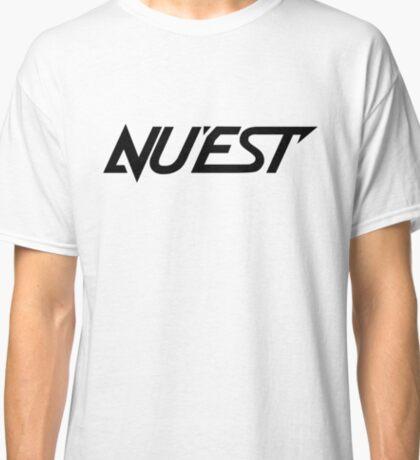 Nu'est - Logo - Black Classic T-Shirt