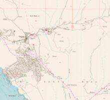 USGS TOPO Map California CA Cambria 302578 1959 24000 geo Sticker