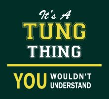 It's A TUNG thing, you wouldn't understand !! by satro