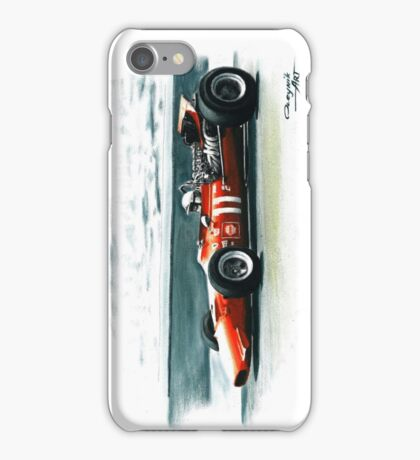 1969  Ferrari 312 F1 iPhone Case/Skin
