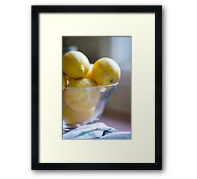 Day 14 - Yellow Framed Print