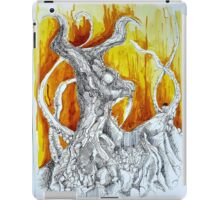 Goat Lord with tentacles iPad Case/Skin