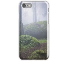 Magic forest with mist iPhone Case/Skin