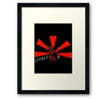 Charge Framed Print