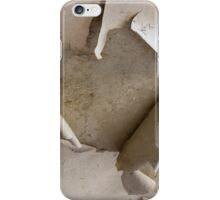 old wall iPhone Case/Skin