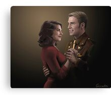 We Had A Date Canvas Print