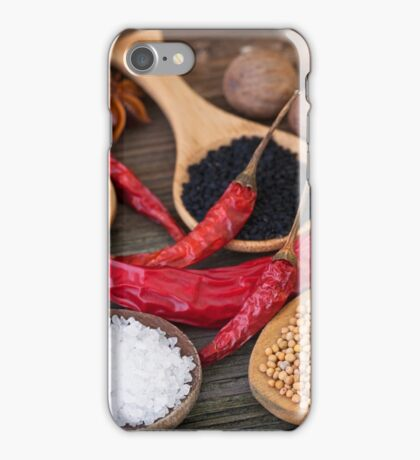 Spicy kitchen iPhone Case/Skin
