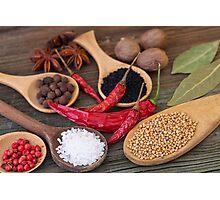 Spicy kitchen Photographic Print
