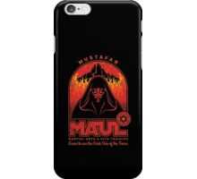Maul Martial Arts iPhone Case/Skin