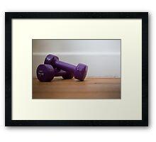 Day 17 - Purple Framed Print