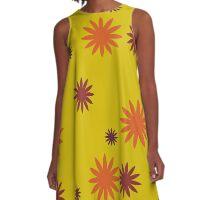 FLOWER 1 - NESCI A-Line Dress