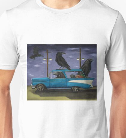 Ravens Ride Unisex T-Shirt