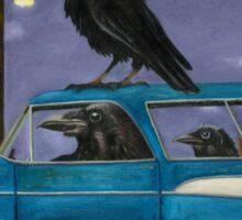 Ravens Ride Sticker