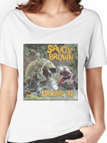 Savoy Brown Looking In Women's Relaxed Fit T-Shirt
