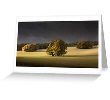 Autumn on th Downs Greeting Card