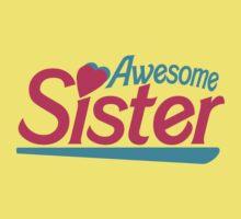 Awesome Sister Kids Tee