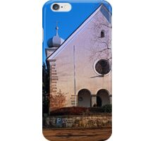 The village church of Klaffer I | architectural photography iPhone Case/Skin