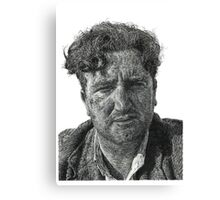 Brendan Behan - Irish Author Canvas Print