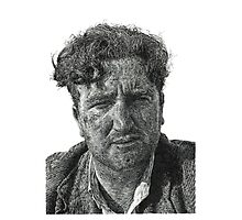 Brendan Behan - Irish Author Photographic Print