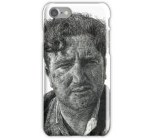 Brendan Behan - Irish Author iPhone Case/Skin
