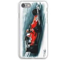 1977  Ferrari 312T2 iPhone Case/Skin