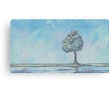 One Little Tree Canvas Print
