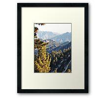 Mountain Wilderness Above Palm Desert Framed Print