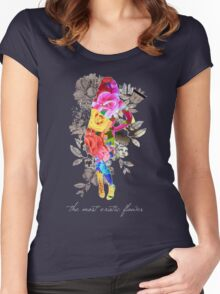 The Most Exotic Flower Women's Fitted Scoop T-Shirt