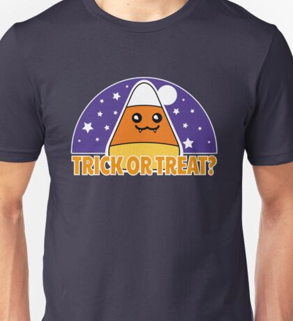 Candy Corn - Trick or Treat? Unisex T-Shirt
