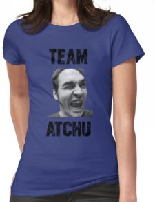 Team Atchu! Design 2 Womens Fitted T-Shirt