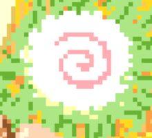 Ramen Pixel Art Sticker