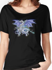 Blue-Eyes Spirit Dragon Women's Relaxed Fit T-Shirt