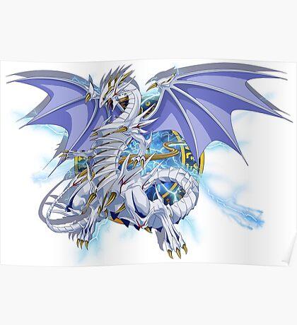 Blue-Eyes Spirit Dragon Poster