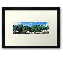 Caracas - Pop Art Framed Print