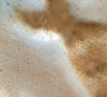 sugar in my coffee .... dress Sticker